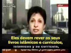 Wafa Sultan Apresentadora ds Al Jazeera Vídeo indispensável: em apenas cinco minutos, a psiquiatra síria desmoralizou a conversa fiada que transforma em culpados as vítimas do primitivismo islâmico
