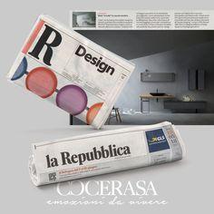 La Repubblica - 18 Maggio 2018 #magazine #newspaper #advertsing #design #bathroom #interiordesign #home #homedesign