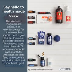 Which kit will you choose? Sign up for a wellness kit now! my.doterra.com/womenshealth