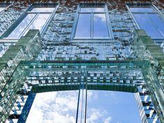 glass brick assembly