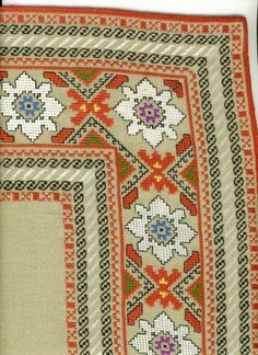 Gallery.ru / Фото #49 - μιμοζα - ergoxeiro Cross Stitch Bookmarks, Cross Stitch Art, Cross Stitch Borders, Cross Stitch Flowers, Cross Stitching, Cross Stitch Patterns, Folk Embroidery, Embroidery Patterns Free, Vintage Embroidery