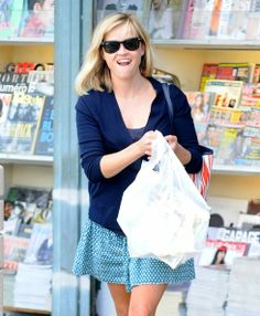 Reese Witherspoon on April 27, 2014 in Brentwood, California.