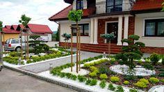 Creative Landscape, Landscape Design, Outdoor Landscaping, Front Yard Landscaping, Front Yard Patio, Front Porch, Circular Garden Design, Modern Backyard, Garden Stones