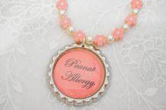 allergy bracelet for girls Medical Bracelet  by splendorhoney, $16.00