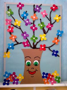 Spring Craft Ideas for Kids - Preschool and Kindergarten preschool spring crafts Spring Crafts For Kids, Summer Crafts, Art For Kids, Diy And Crafts, Arts And Crafts, Paper Crafts, Toddler Crafts, Preschool Crafts, Free Preschool