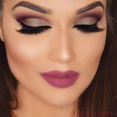 Image about pretty in make up♥ by Maria on We Heart It Hd Makeup, Matte Makeup, Full Face Makeup, Airbrush Makeup, Smokey Eye Makeup, Makeup Trends, Skin Makeup, Makeup Inspo, Makeup Inspiration