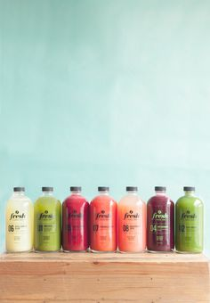 Cold Pressed Juice Collection