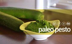 PALEO PESTO #raw #vegan #paleo #pesto #sauce #pasta