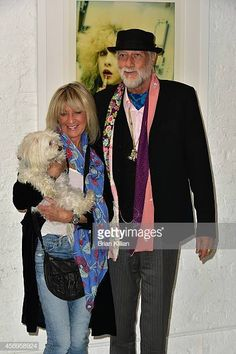 "Christine McVie and Mick Fleetwood attend Stevie Nicks' Karat Gold The Self Portrait Collection"" Exhibition Unveiling at Morrison Hotel Gallery on October 2014 in New York City. Stevie Nicks Lindsey Buckingham, Buckingham Nicks, Christine Perfect, Rumours Album, Morrison Hotel, Stevie Nicks Fleetwood Mac, Rock And Roll, Gypsy Soul, Rock Stars"
