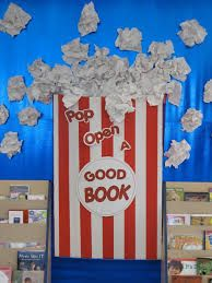 november library bulletin board ideas - Google Search