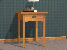 Mission End Table Plans - Furniture Plans