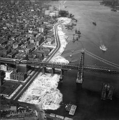 1937 - east river park under construction