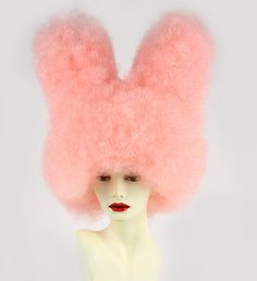 Bunny Wig Rabbit Ears Wig Crazy Costume Wigs Kawaii