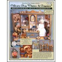"""Millinery Shop """"Maison de Chapot"""" - VPD74"""