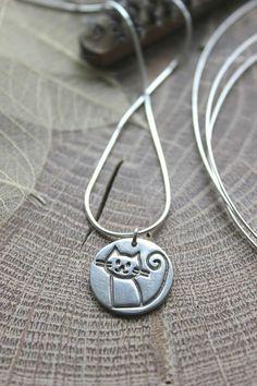 Collar de gato collar de gato gato plata por littlesilverhedgehog