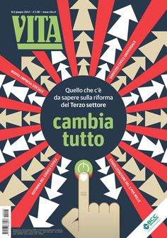 Vita June 2014 illustration: Francesco Poroli / art direction: Matteo Riva
