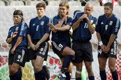 Argentina 1 Nigeria 0 (Copa del Mundo Corea/Japón 2002,Estadio Kashima, Ibaraki,02/06/2002)