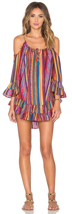 WM and MW Womens Sexy Off Shoulder Ruffle Rainbow Striped Boho Fringed Beach Mini Dress Loose Chiffon Strap Dress XXLarge Colorful -- For more information, visit image link. (This is an affiliate link) Hippie Chic, Boho Chic, Estilo Hippie, Bohemian Mode, Bohemian Schick, Short Dresses, Summer Dresses, Chiffon Dresses, Mini Dresses