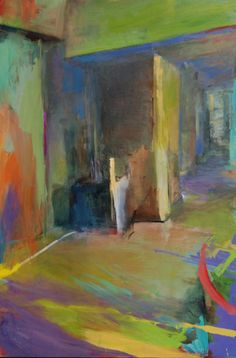 The colors are great The Joy Of Painting, Art Interiors, Color Studies, Painting Inspiration, Art Images, Creative Art, Painting & Drawing, Art Reference, In This World