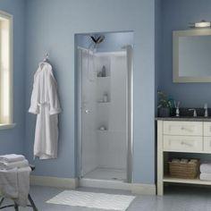 delta silverton 30 in x in semiframed shower doorclear