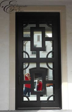 modern iron doors - Google Search