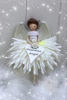 Fairy Dolls, Felting, Fairies, Flower Girl Dresses, Crafty, Christmas Ornaments, Holiday Decor, Wedding Dresses, Flowers