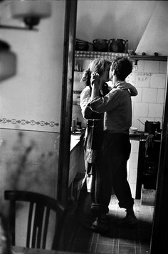You two should dance in the kitchen and burn the dinner tonight.  Really love your partner! It's not too late to love who you're with. Really love them. Show them with your words, your gaze, your questions. Make them the center of your affection.   Inspirational blog