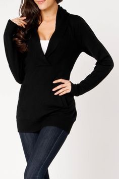 Coupe Lola Sweater In Black - Beyond the Rack