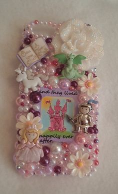 Completed iPhone 5/5s Fairytale Happily Ever After Handmade Cell Phone Case Homemade