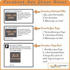 Dimensiones de anuncios en Facebook