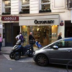 A store for Bond villains in paris, france
