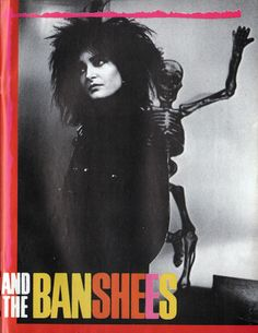 """Siouxsie And The Banshees """"Melt!"""" 1982, from the album A Kiss in the Dreamhouse"""