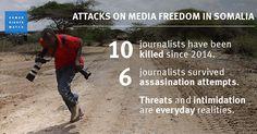 osCurve News: Somalia: Journalists Under Attack