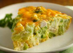 Gluten Free Impossibly Easy Chicken 'n Broccoli Pie From Betty Crocker®!