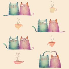 Cats and coffee