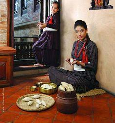 #yamari, food in #Nepal #newar