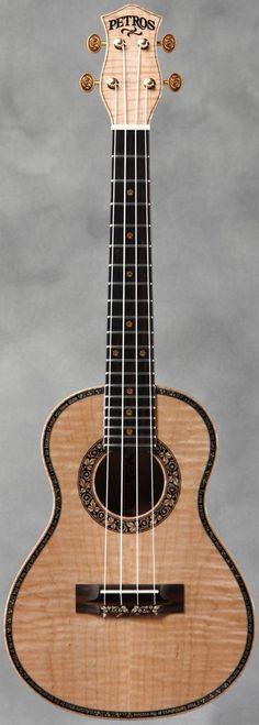 Petros Guitars #LardysWishlists #Tenor #Ukulele ~ https://www.pinterest.com/lardyfatboy/ ~