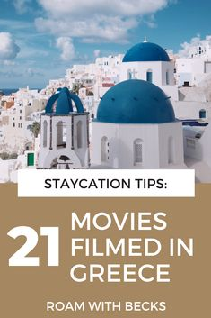 Here are some suggestions for movies set in Greece. All of these movies take place in Greece, so you can get inspired for your next visit. These movies will inspire your wanderlust and give you inspiration. Put them on your watchlist today! Greek aesthetics for your every day travel bug! Movie 21, Film Movie, Places In Greece, The Beautiful Country, Travel Bugs, Staycation, All Over The World, Taj Mahal, Greek