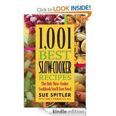 Free eBook: 1001 Slow Cooker Recipes  For Kindle -- but you can download the book on your computer or any other device with the reading app :)