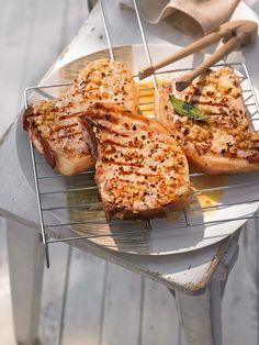 Grillfleisch eingelegt nach Braumeister Art - mit Bier und Knoblauch