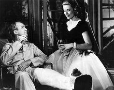 Grace Kelly & Jimmy Stewart Rear-Window