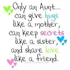 So true! I take my aunt duties very serious!