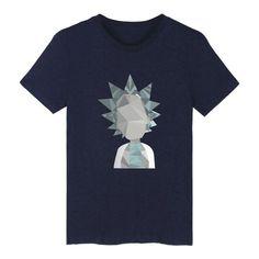 c8b40905 Rick And Morty Geometric 3D Funny Design T-Shirt. Best Mens T Shirts3d ...
