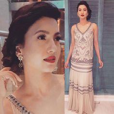 Going retro!!!! #jiofilmfarepreawardsparty2017 .... @pallavi_mohan_not_so_serious_  beautiful dress.... @radhikaagrawalstudio cr