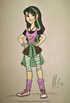 Vanellope Von Schweetz by hanaekaptr on DeviantArt - (18-year-old Vanellope)