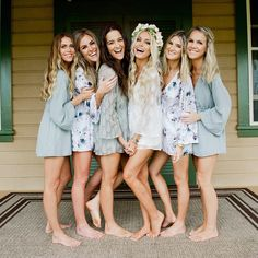 These cauute 'getting ready' rompers // Brand: Show Me Your MuMu //