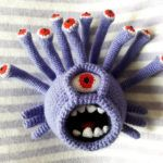 """Breathtaking … a Crocheted """"Beholder"""" Amigurumi – Must-See for Dungeons & Dragons Fans"""