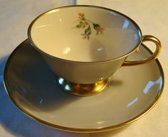 Flintridge China San Marino Cup & Saucer from foundagainfavorites on Ruby Lane