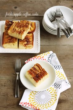 Fresh Apple Coffee Cake
