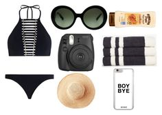 """bad thang"" by itzssgabyybruhh ❤ liked on Polyvore featuring Zimmermann, Prada, Fujifilm, James Perse, Toast and gabyyysetsss"